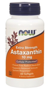 NOW Foods Astaksantyna Super Mocna 10mg