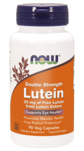 NOW Foods  Luteina 20 mg – 90 kaps