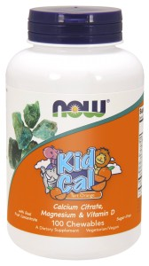 NOW Foods Kid Cal – 100 pastylek do żucia
