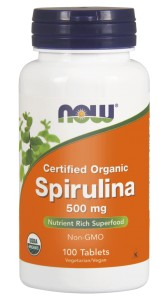 NOW Foods  Spirulina 500 mg – 100 tab
