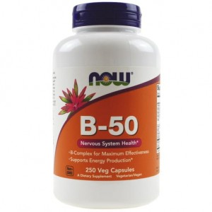 NOW Foods Witamina B-50 250kaps B50