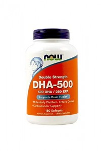 NOW Foods DHA-500 – 180 kaps