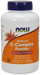 NOW Foods C-Complex Powder Witamina C w proszku buforowana – 227 g