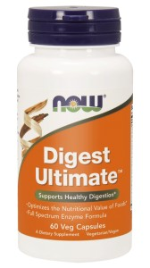 NOW Foods Digest Ultimate™ 60 kaps Enzymy Amylaza