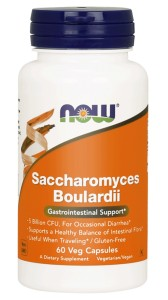 NOW Foods Saccharomyces Boulardii 60 kaps Sacharomyces