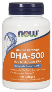 NOW Foods DHA-500 – 90 kaps
