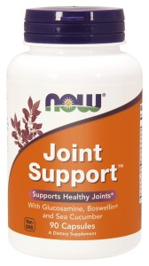 NOW Foods Joint Support™ 90 kaps Glukozamina Boswellia strzykwa