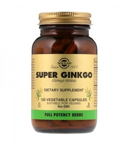 SOLGAR SUPER GINKGO 90MG FULL POTENCY 120 VCAPS