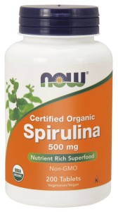 NOW Foods Spirulina 500 mg – 200 tab